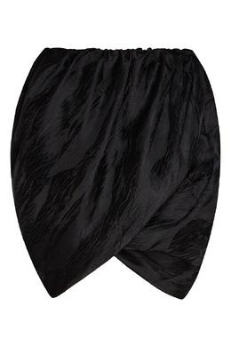 Короткая юбка объемного кроя Ganni 2979157785