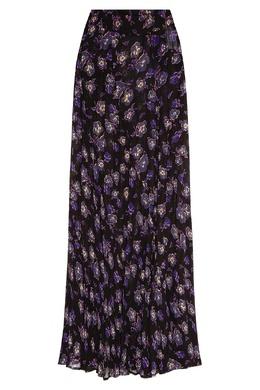 Длинная юбка с цветочным принтом Ganni 2979157792