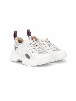 Gucci Kids кроссовки на шнуровке 580232GGZD0