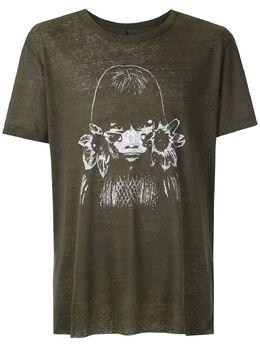 Osklen футболка с принтом Índia 59134