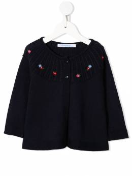 Familiar - knitted floral cardigan 55695553508000000000