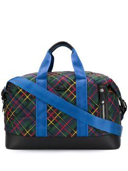 Vivienne Westwood - дорожная сумка Wimbledon в клетку тартан 3665696393MO95586563