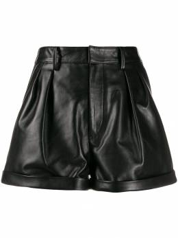 Isabel Marant - high-rise turn-up shorts 08399H660I9558863500