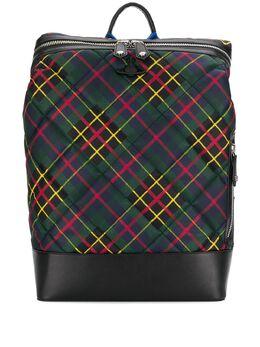 Vivienne Westwood - рюкзак Wimbledon в клетку тартан 9660696393MO95586530