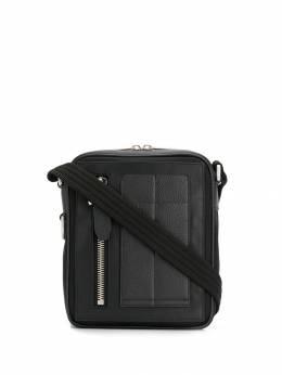 Neil Barrett - сумка на плечо из зернистой кожи 055BM999695588865000