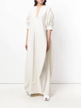 Jil Sander - платье с присборенными рукавами M568666WM05966690939