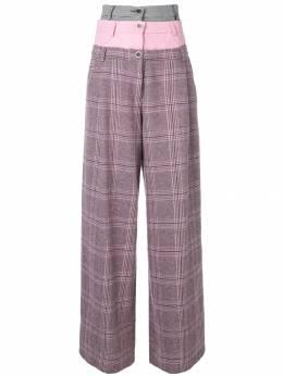 Natasha Zinko - широкие брюки с тройным поясом 83666969369395058900