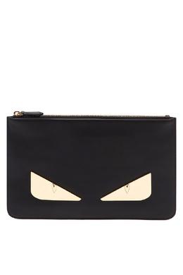 Прямоугольный клатч с глазами Bag Bugs Fendi 1632157826