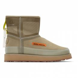 Heron Preston Beige UGG Edition Urban Tech Boots 192967M22300107GB