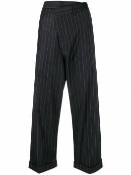 R13 - crossover cropped trousers W3309569558656000000
