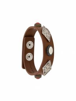 Isabel Marant - studded leather bracelet 63099H669B9559938300