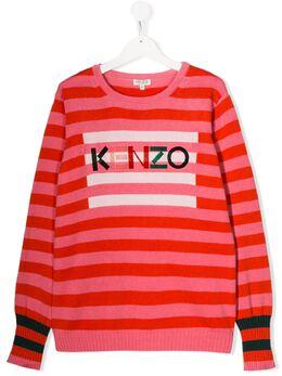 Kenzo Kids - джемпер в полоску 86683509559600500000