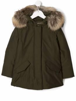 Woolrich Kids - плащ с капюшоном PS090695599656000000
