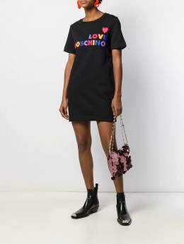 Love Moschino - logo T-shirt dress 5396M566895586959000