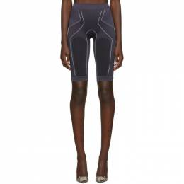 Unravel Grey Move Seamless Cycling Shorts 192806F08800603GB