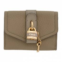 Chloe Grey Mini Aby Square Lock Wallet 192338F04003901GB