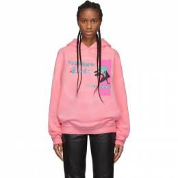 Misbhv Pink Tie-Dye Anime Hoodie 192937F09701304GB