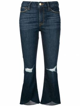 FRAME - cropped flared jeans BSW958KEELEYCOURT930