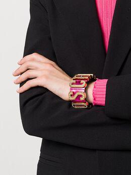 Moschino - браслет с декорированным логотипом 56869995599803000000