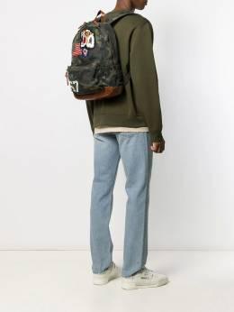 Ralph Lauren - камуфляжный рюкзак с нашивками 35038695665939000000