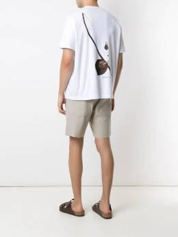 Osklen - футболка с принтом Big Berimbau 55950338500000000000