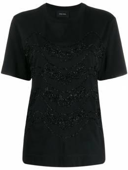 Simone Rocha - декорированная футболка 55665539559939800000