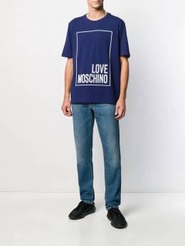 Love Moschino - футболка с логотипом 303YE989995099899000
