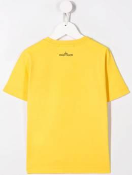 Stone Island Junior - футболка с логотипом 99609650955595300000