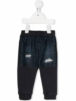 Emporio Armani Kids - брюки с джинсовыми вставками P695JFWZ955950560000