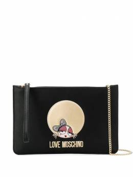 Love Moschino - logo chain shoulder bag 393PP68KQ69558963600