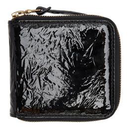 Visvim Black Folie Zip Wallet 192487M16400501GB