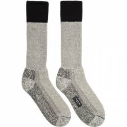 Fear Of God Black and White Merino Socks 192782M22000201GB