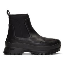 Stella McCartney Black Utility Boots 192471M22300108GB
