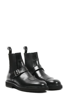 Черные кожаные полусапоги Paul Smith 1924159241