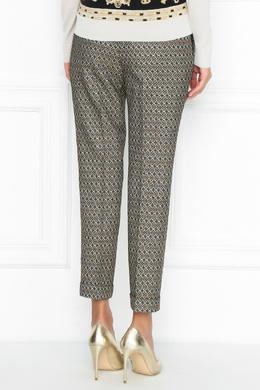 Бежевые брюки с узорами Etro 907158756