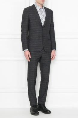 Темно-серый костюм из шерсти Paul Smith 1924159196