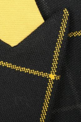 Черное шерстяное пальто в клетку Paul Smith 1924159308