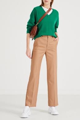 Прямые светло-коричневые брюки Maje 888157970