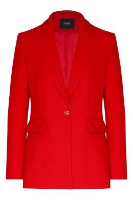 Красный женский жакет Maje 888157947