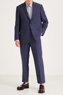 Синий мужской костюм Brioni 1670159115