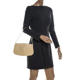 Louis Vuitton Tassil Yellow Epi Leather Demi Lune Pochette Bag 231436