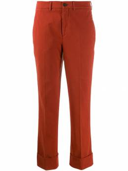 Incotex - tapered cropped trousers 686D0695956603090000