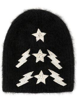 Jennifer Behr - шапка бини Bowie A39BLACK955588630000