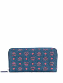 MCM - Visetos print zip-around wallet 9AVI5695565993000000