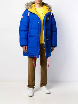 Polo Ralph Lauren - oversized two tone puffer coat 36590366995663539000