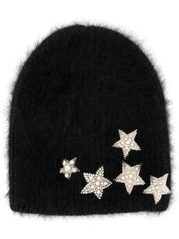 Jennifer Behr - декорированная шапка бини Estella A55BLACK955588660000