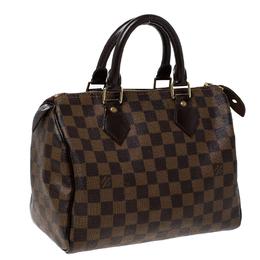 Louis Vuitton Damier Ebene Canvas Speedy 25 Bag 232026