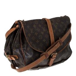 Louis Vuitton Monogram Canvas Saumur 35 Messenger Bag 231480