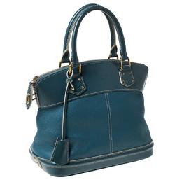 Louis Vuitton Blue Suhali Leather Lockit PM Bag 231568