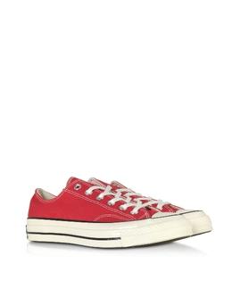 Chuck 70 - Низкие Кроссовки из Ткани Винтаж Converse Limited Edition 164949C 434 ENAMEL RED/EGRET/BLACK 3